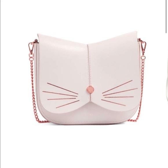733b2bffb7 Ted Baker Cat Leather Crossbody Bag. M 5afa05af9d20f074b6322079